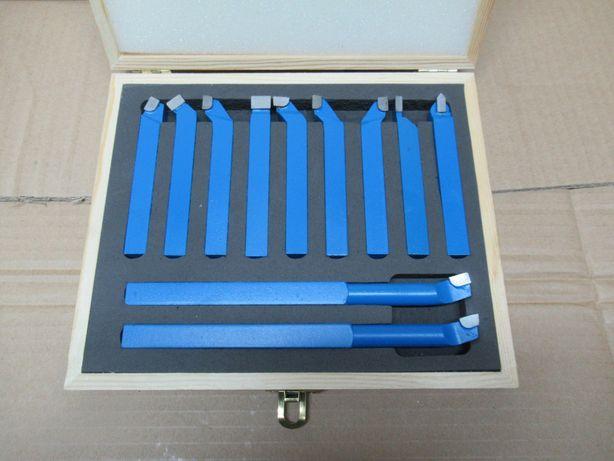 Komplet Noży Tokarskich NOWY 12x12 Zestaw 11el Nóż Tokarski Prawy Lewy