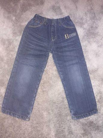 Spodenki jeansowe ocieplane