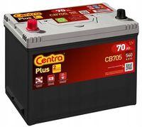 Akumulator Centra Plus CB705 12V 70Ah 540A L+ Kraków Dowóz EB705