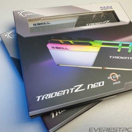 Нова GSkill Trident Z Neo 32GB 3800 CL14 2x16 F4-3800C14D-32GTZN B-Die