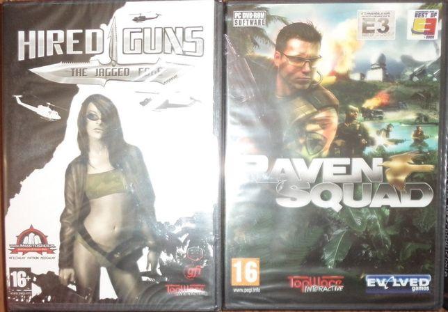 2 gry: Raven Squad, Hired Guns - the jagged edge, Windows XP, retro