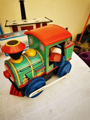 Comboio de chapa brinquedo Walt Disney, marca Modern Toys