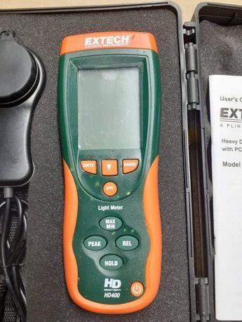 Luksomierz Extech HD-400 + wbudowany rejestrator