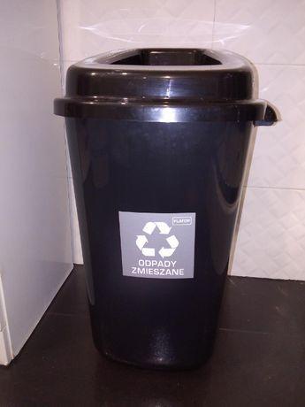 Kosz na śmieci i odpady, do segregacji 28l