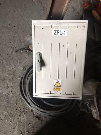 Skrzynka prądowa budowlana ZPL-1