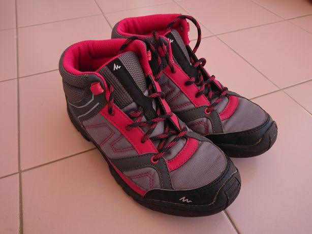 Botas de caminhada Quechua tam. 38