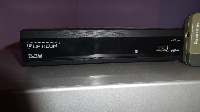 Tuner DVB-T OPTICUM AX Lion+Telewizor Panasonic TX-29AS10P