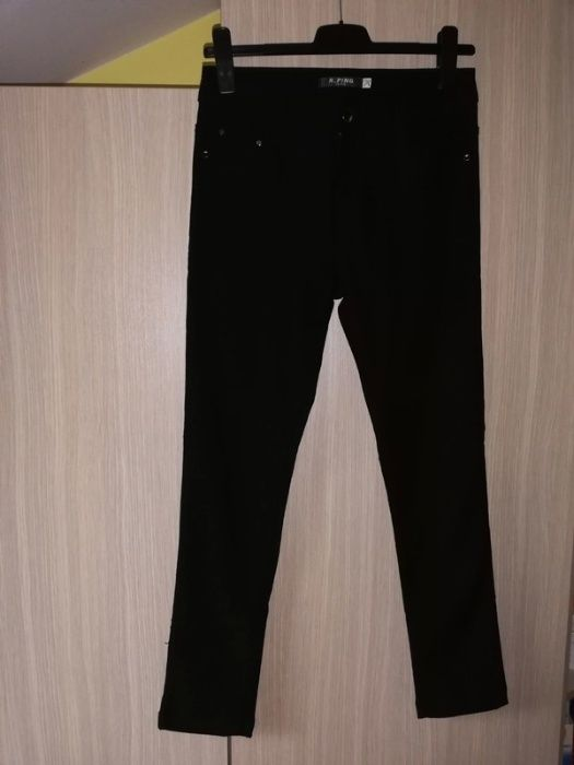 Czarne spodnie RPing jeans r. 31 Kutno - image 1