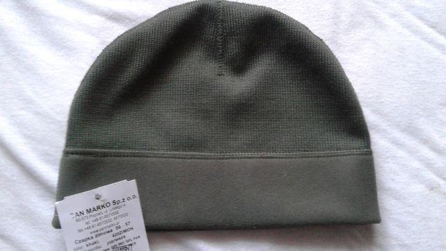 Czapka zimowa wojskowa khaki rozmiar 56-57 nowy wzór 2019