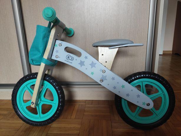 Rower rowerek biegowy Runner Kinderkraft drewniany