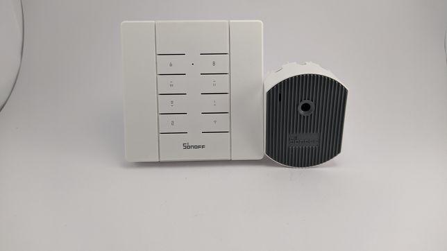 Sonoff D1+Sonoff RM433+база(Диммер +пульт + база к пульту)