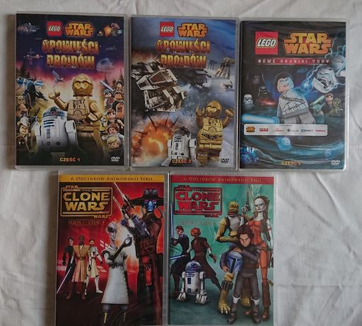 Lego Star Wars zestaw 5 dvd
