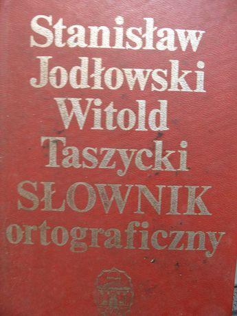 Słownik ortograficzzny Taszycki Jodłowski