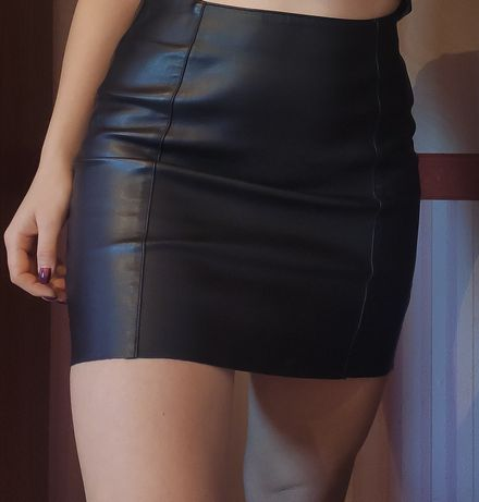 кожаная юбка от H&M