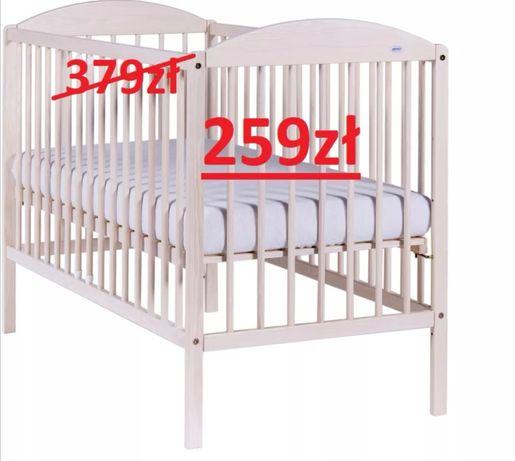Nowe łóżeczko DREWEX Kuba II transparent