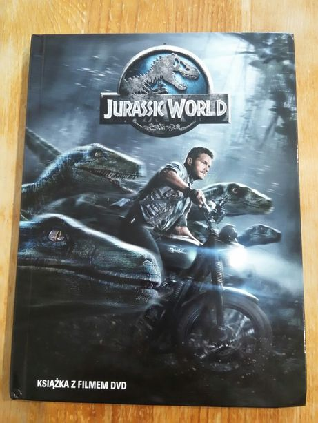 Jurassic World film DVD
