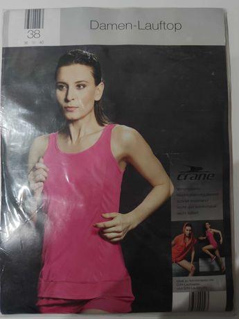 Koszulka sportowa bokserka top sportowy fitness joga