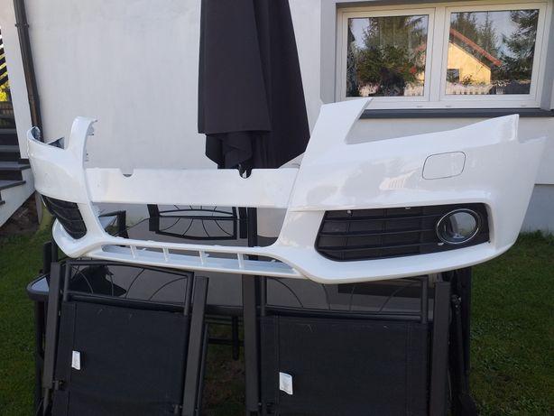 Zderzak Audi a4 b8 07-11 przod przedni  LY9C nowy spryski xenon