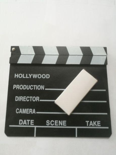 tablica kreda zestaw komplet klaps filmowy film