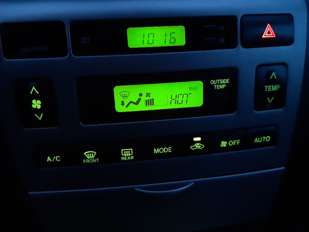 Konsola, panel sterowania Corolla E12 2005 rok. Super stan. Prywatnie