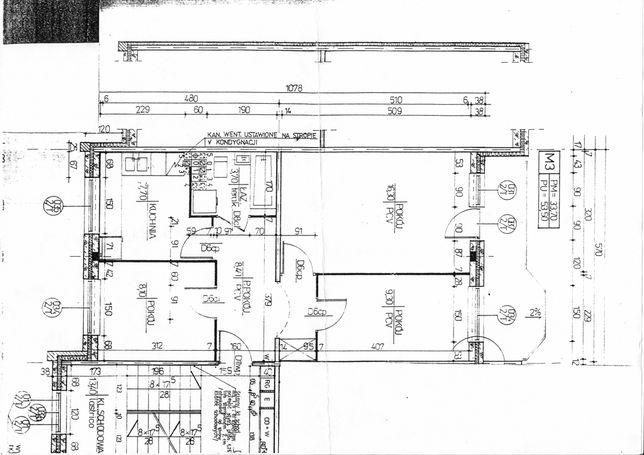 mieszkanie do wynajęcia 53,50 m2