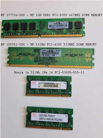 Memórias RAM Portátil