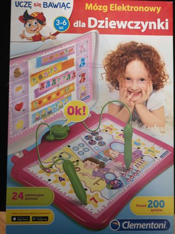 Zabawka edukacyjna Mòzg elektronowy dla dziewczynki