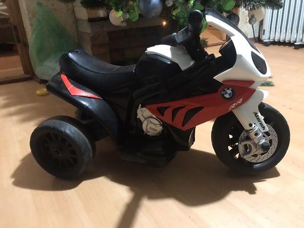 Детский электромотоцикл БМВ