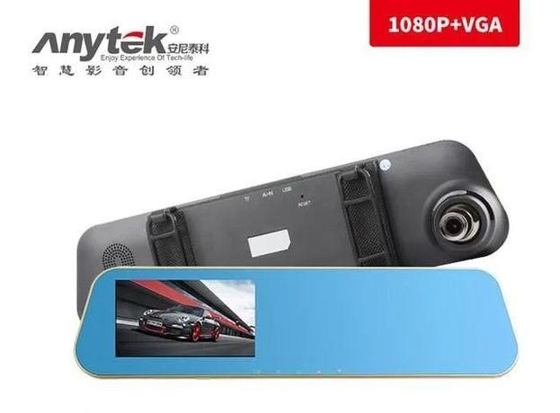 "Зеркало видеорегистратор Anytek N8 4.3"" камера заднего вида."