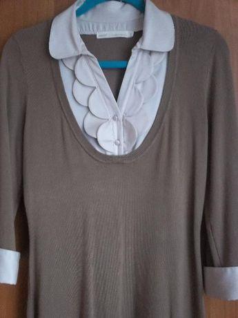 Dzianinowa sukienka roz.38-40 j.nowa