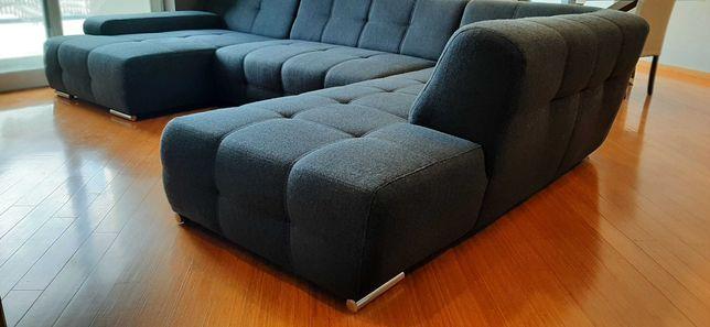 Sofá Cama de 4 lugares com 2 Chaise Longue