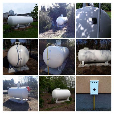 Zbiorniki naziemne / podziemne 2700, 3600, 4850, 6400 na gaz płynny