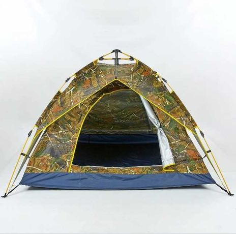 палатка 2х слойная, есть цвета / автомат - 4х местная / нейлон, туризм