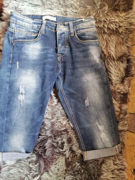 Bermudy jeansowe m) odzieżowe rozm S