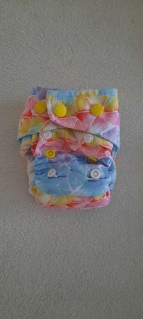 AIO pieluchy wielorazowe pieluszka LBD Little Birds Diapers miniOS