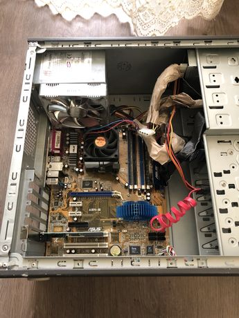 Игровой компьютер intel core i3 системный блок пк комп'ютер асус