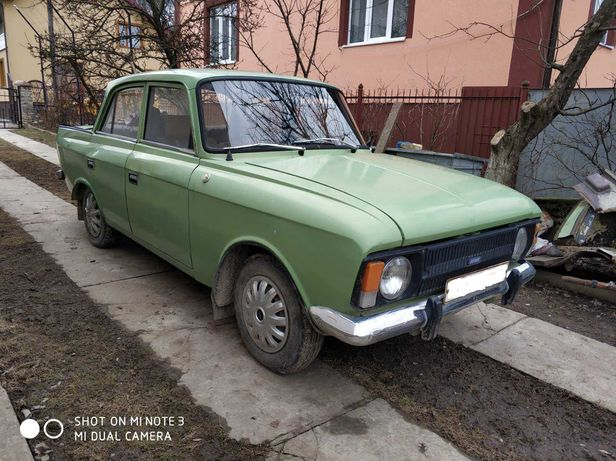 Москвич ИЖ М 412 1991 року випуску колір зелена липа