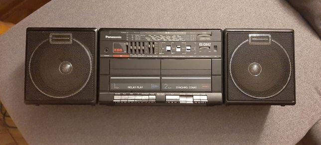 Radiomagnetofon Panasonic RX-CW42 i kasety magnetofonowe