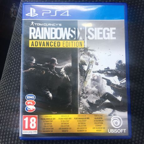 Rainbow Six Siege Advanced Edition gra Ps4 PL