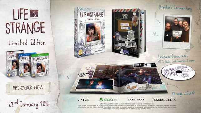 Life is Strange Limited Edition PS4 PlayStation 4