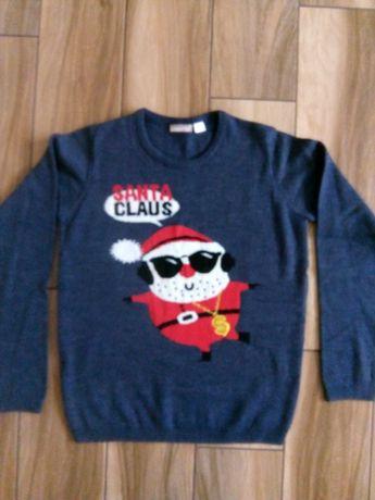 Sweter świąteczny rozm 146/152
