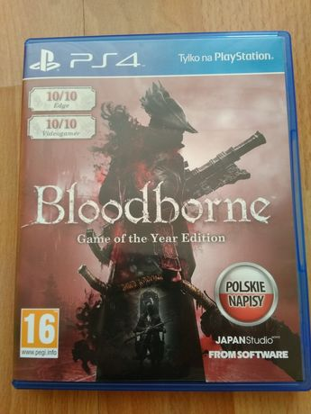 Bloodborne Game of the year edition (goty) pl