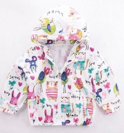 Детская новая ветровка плащ куртка 110-120см Некст Next Китай
