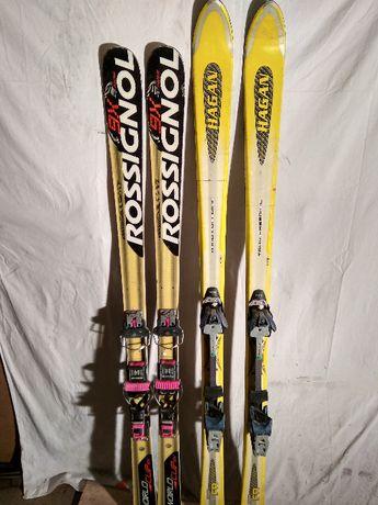 Narty skiturowe 160-170 cm