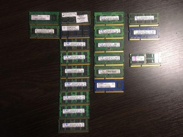 Оперативная память ОЗУ, RAM, DDR2, DDR3 1-2Gb