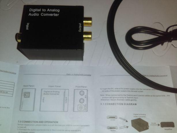 конвертер из цифрового аудио в аналоговое Digital to analog audio con.