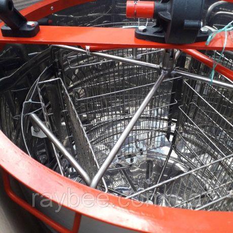 Медогонка 4-х рамочная н/ж, кассеты сварные порошкошкового покрытия