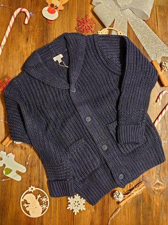 Sweter cardigan wełna alpaki OVS