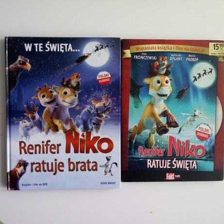 Renifer Niko ratuje brata/ratuje święta__2 Filmy DVD