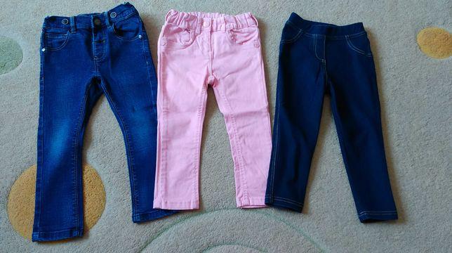 Spodnie rozmiar 92.